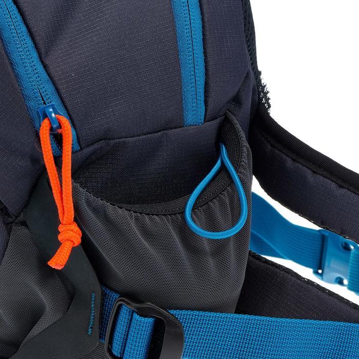 Heuptas voor trekking groot formaat 10 liter blauw