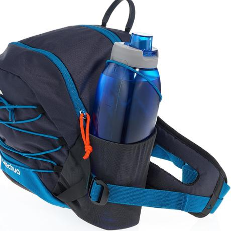 sac banane randonn e grand format 10 litres bleu quechua. Black Bedroom Furniture Sets. Home Design Ideas