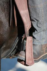 Damesrijbroek met rechte pijpen jeans grijs - 453376