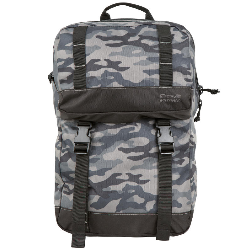 Hunting Backpack 20 Litre - Black Camouflage