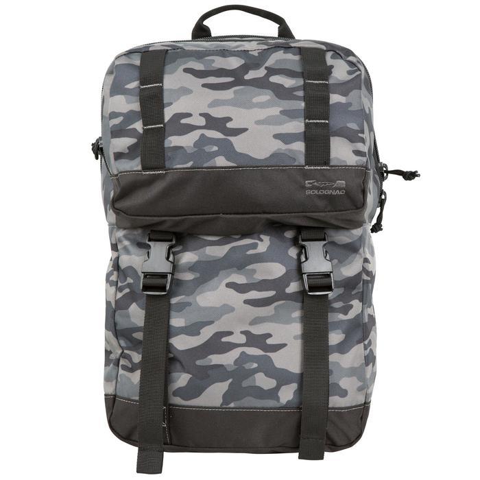 Jagd-Rucksack 20 l Camouflage schwarz