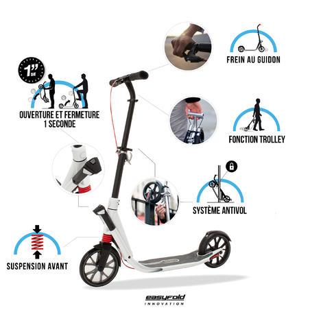 Town 9 EF 15 Adult Scooter - Titanium