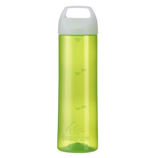 Drinkfles 100 voor wandelen, schroefdop 0,75 liter plastic - 453601