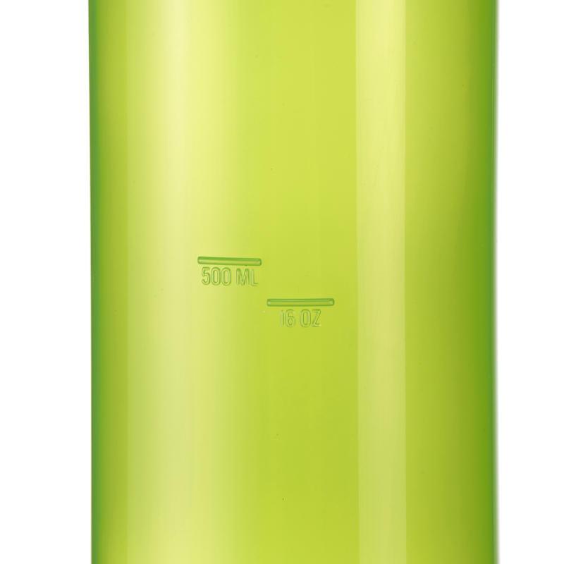 Hiking flask 100 screw top 0.75 litre plastic green