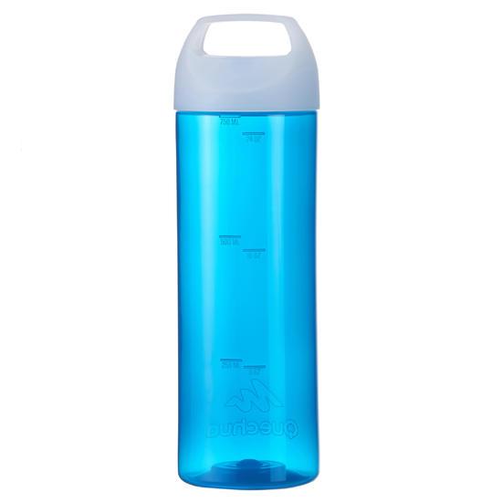 Drinkfles 100 voor wandelen, schroefdop 0,75 liter plastic - 453615