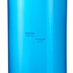 Drinkfles 100 voor wandelen, schroefdop 0,75 liter plastic - 453616