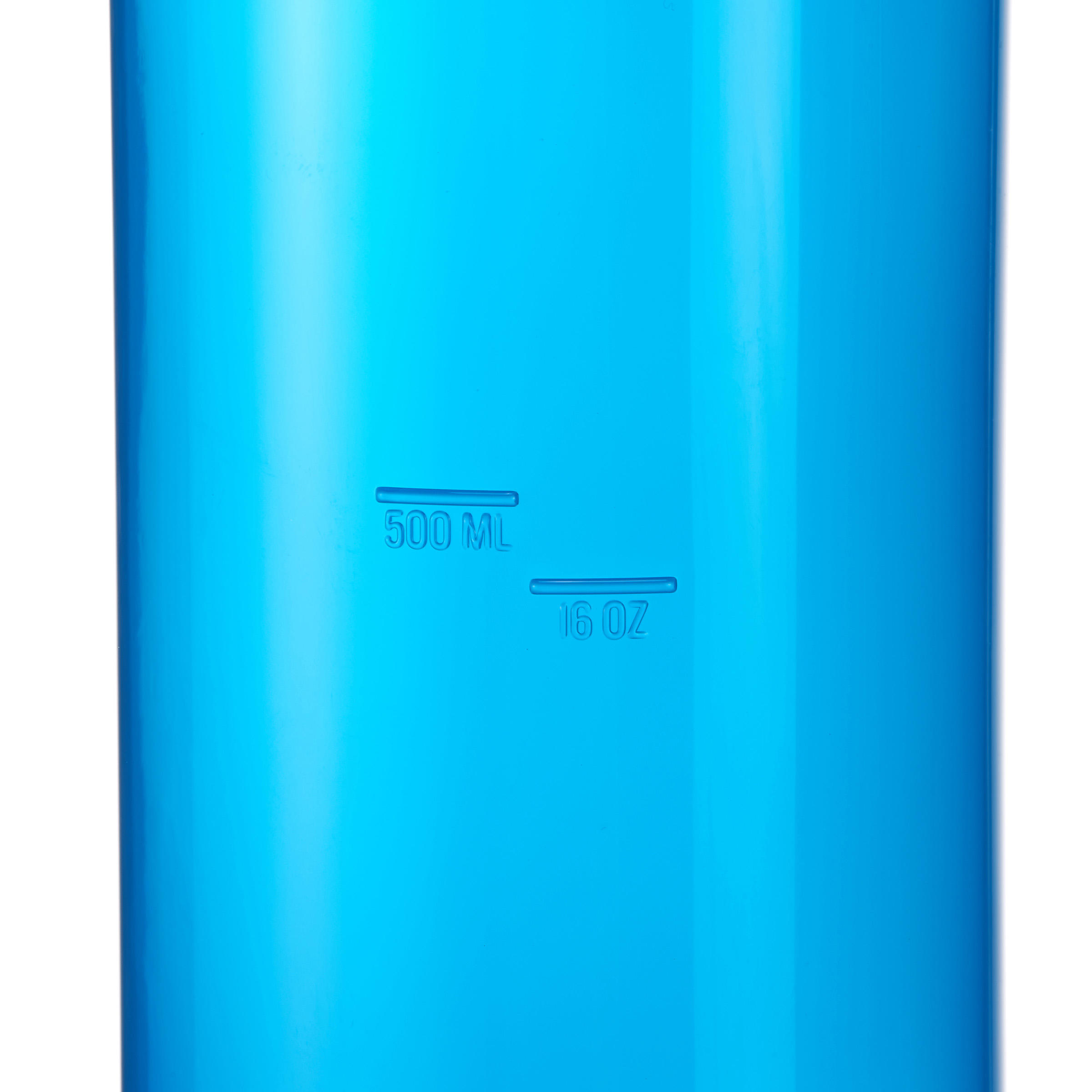 Plastic Hiking Water Bottle 100 0.75 L with Screw Top - Blue
