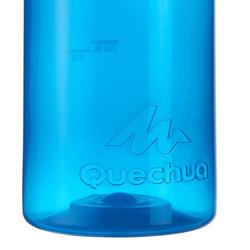 Drinkfles 100 voor wandelen, schroefdop 0,75 liter plastic - 453619