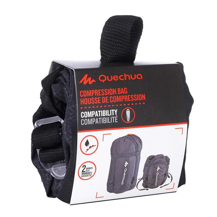 Housse de compression de sac de couchage noire - 453638