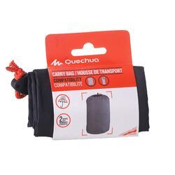 Kompressionssack für Schlafsack oder Camping-Matratze schwarz
