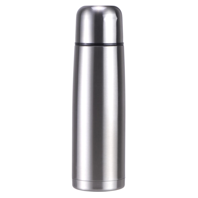 Insulated Flask 1L Stainless Steel - Metal