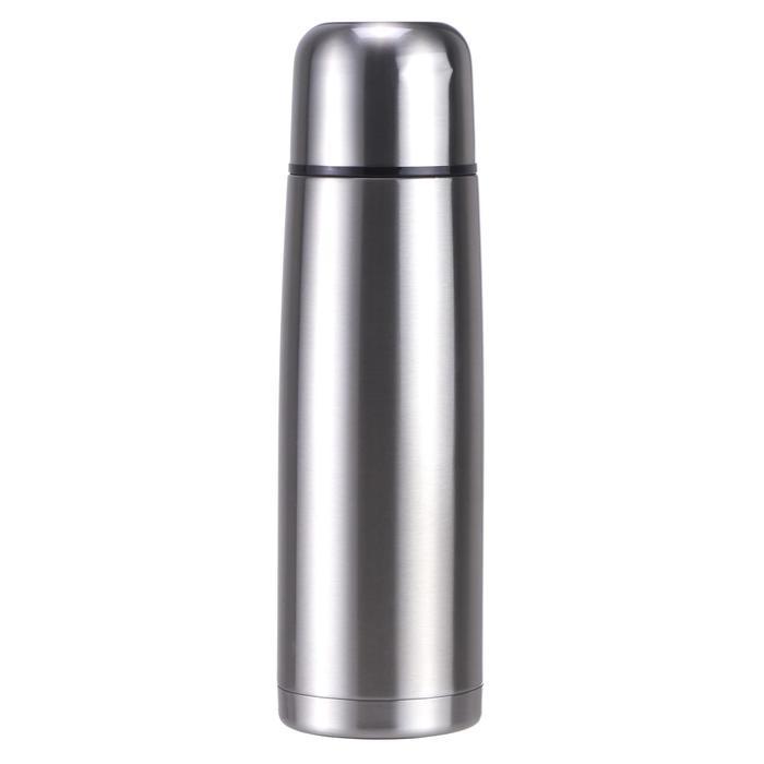 不鏽鋼健行保溫瓶1 L-金屬色