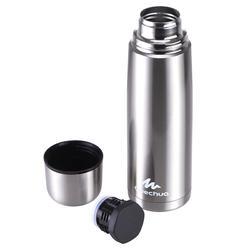 Isolatiefles voor wandelen / trekking 1 liter metaal - 453657