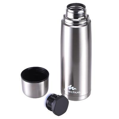 Botella isoterma senderismo acero inoxidable 1 litro metal