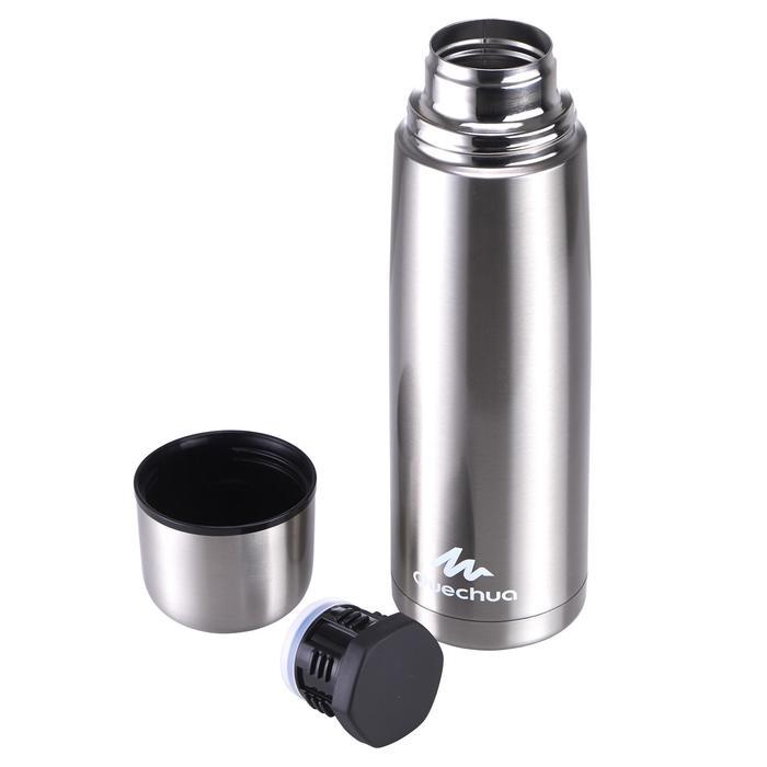 Bouteille isotherme randonnée inox 1 litre métal - 453657