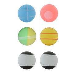 Tafeltennisballetjes Fun Ball set van 6