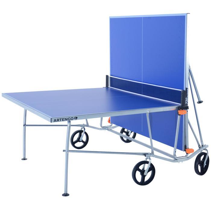 Poteaux amovibles Artengo pour table de tennis de table. - 453681