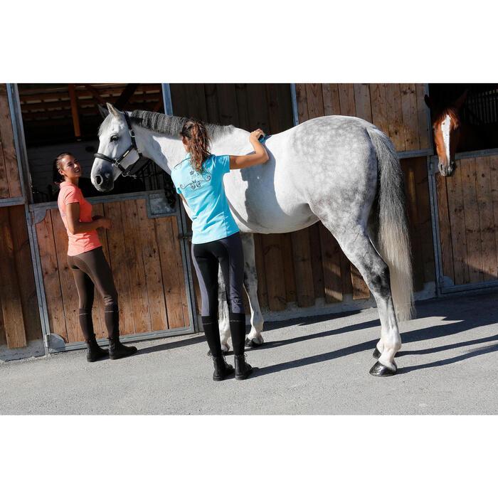 Chaussettes équitation adulte 700 noir
