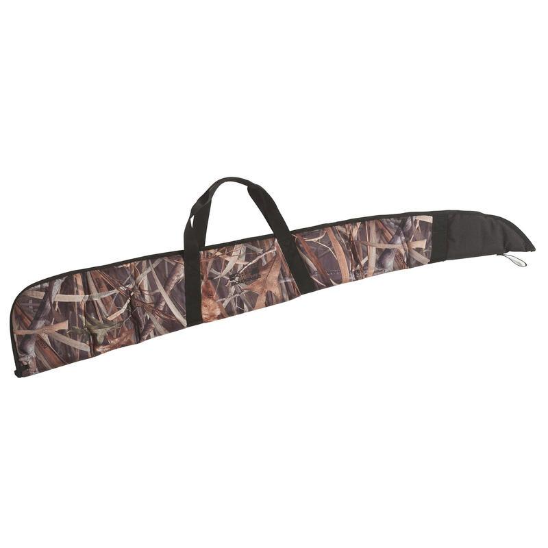 Foedraal voor jachtgeweer camouflage moeras 150 cm