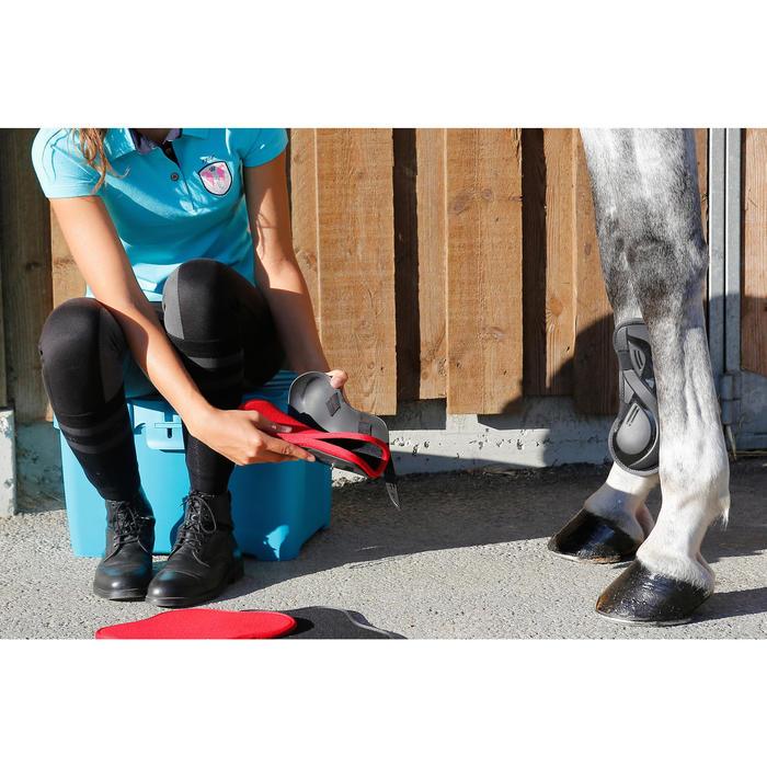 Maletín de limpieza equitación GB 700 rojo