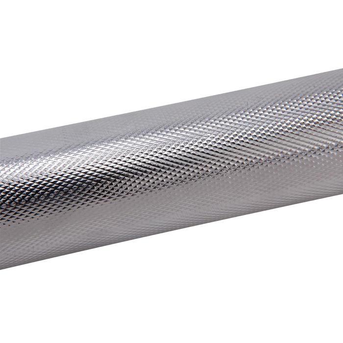 Barra para pesas de musculación Domyos de 35 cm y 28 mm