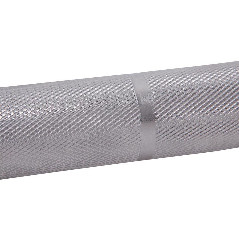 Barra de musculación de 1,20 m y 28 mm