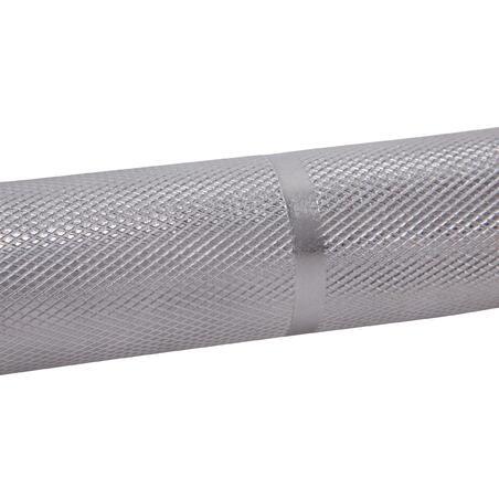 Barre de musculation 1,20 m 28 mm