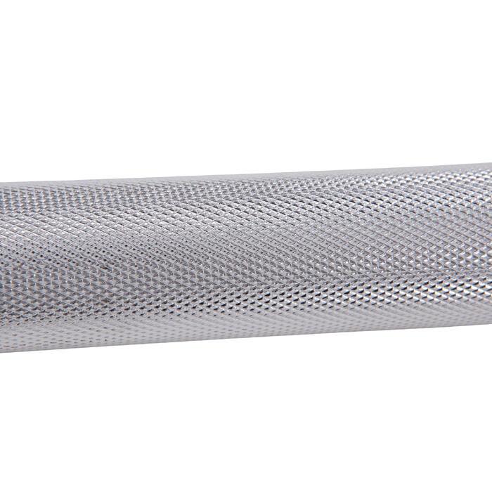 Barra de musculación Domyos de 1,75 m y 28 mm
