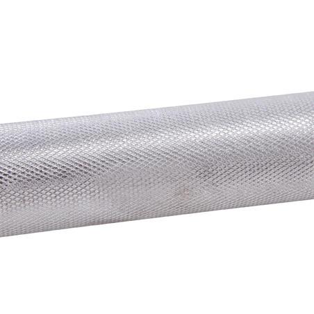 2 m ilgio 28 mm skersmens štanga svarmenų kėlimo treniruotėms