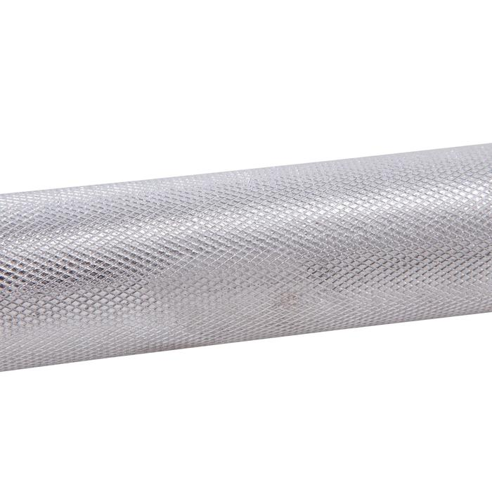 Barra de musculación Domyos de 2 m y 28 mm