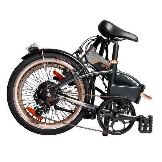 E Bike 20 Quot Faltrad Klapprad Hoptown 500 Samsung 144wh