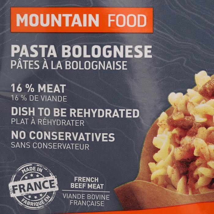 Repas déshydraté trekking MOUNTAIN FOOD pâtes à la bolognaise 120g - 45545