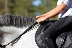 Slofteugels leer en koord ruitersport Romeo - 456038
