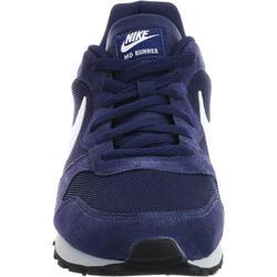 Herensneakers MD Runner blauw/wit - 45682