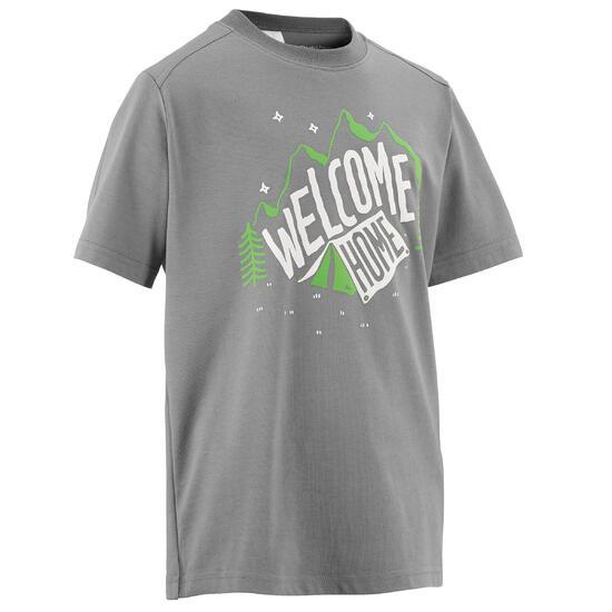 Jongens T-shirt voor wandelen Hike 500 - 457103