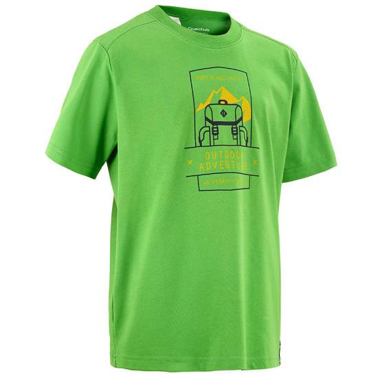 Jongens T-shirt voor wandelen Hike 500 - 457136