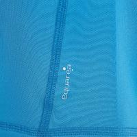 Boys' Hike 100 hiking T-shirt blue