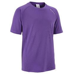 T-shirt Forclaz 100 meisjes trekking