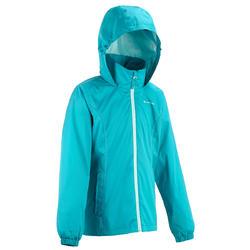 Regenjas voor trekking meisjes Hike 500 - 457395