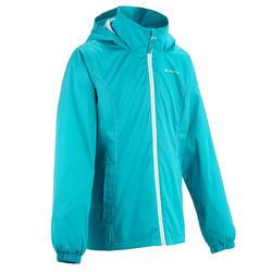 Regenjas voor trekking meisjes Hike 500 - 457397