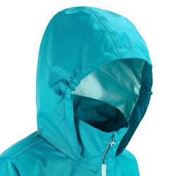 Regenjas voor trekking meisjes Hike 500 - 457399