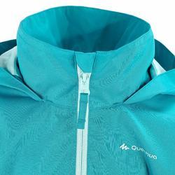 Regenjas voor trekking meisjes Hike 500 - 457400