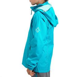 Regenjas voor trekking meisjes Hike 500 - 457407