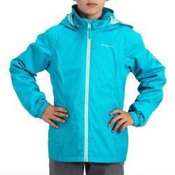 Regenjas voor trekking meisjes Hike 500 - 457408
