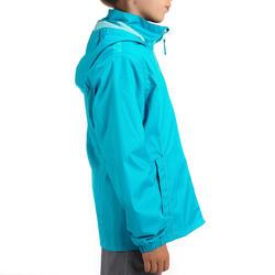 Regenjas voor trekking meisjes Hike 500 - 457409