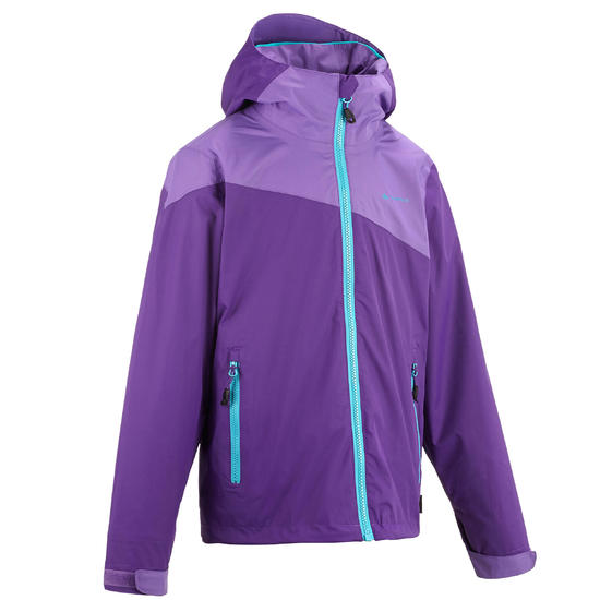Regenjas voor trekking jongens Hike 900 - 457461