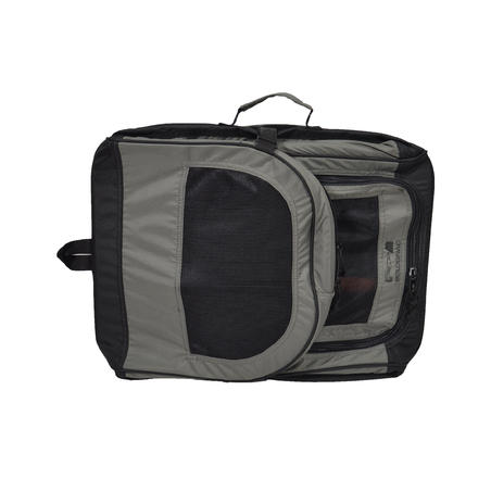 Foldable dog carrying case