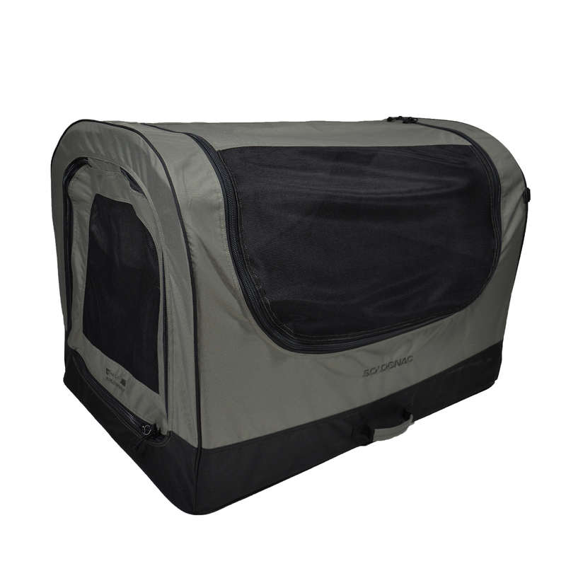DOG ACCESSORIES Shooting and Hunting - FOLDABLE DOG CARRYING CASE SOLOGNAC - Working Dogs
