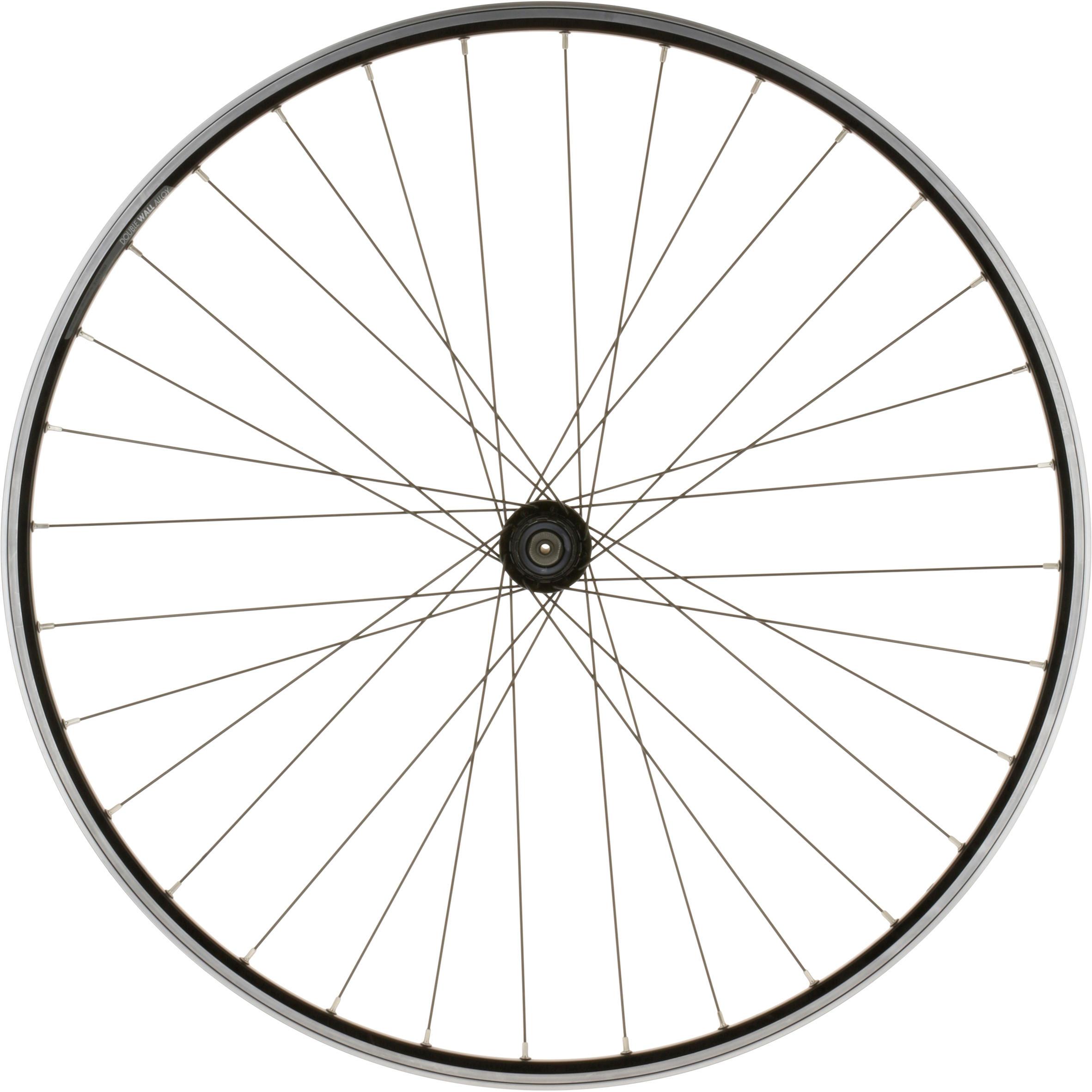 700 Rear Road Bike Wheel - Black