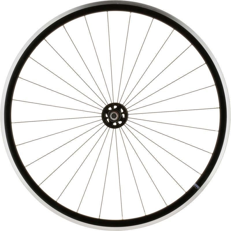 WHEELS CITY Cycling - 700 Fixie Front Wheel - Black BTWIN - Cycling